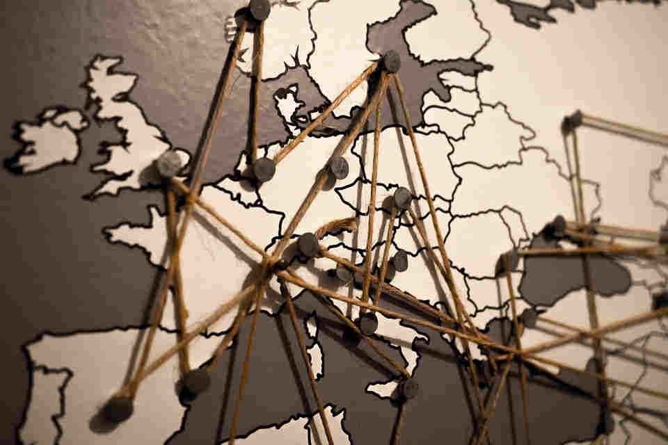 Mudanzas dentro de Europa